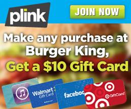 Plink Burger King