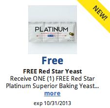 free red star yeast