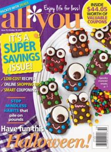 monster savings in all you magazine