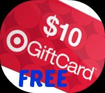 free $10 gift card at target