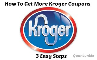 how to get more kroger coupons