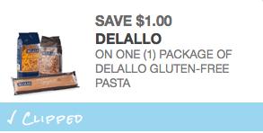 delallo gluten-free pasta