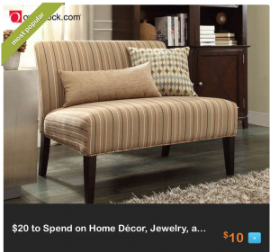 Free $20 Credit at Overstock