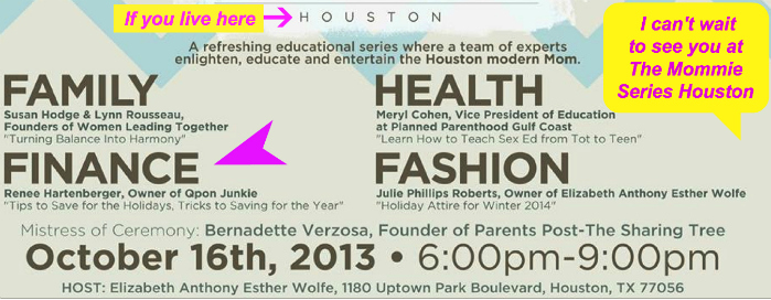 will i see you at the mommie series event
