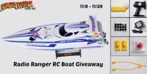 Win a Radio RC Boat