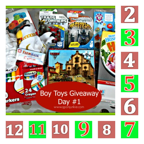 Boy Toys Giveaway Package