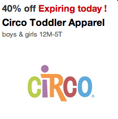 Circo Toddler's Apparel