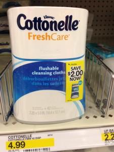 Free Cottonelle Fresh Care