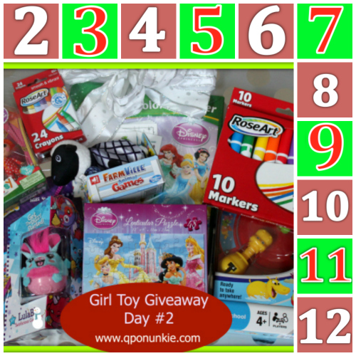 Girl Toy Package Giveaway