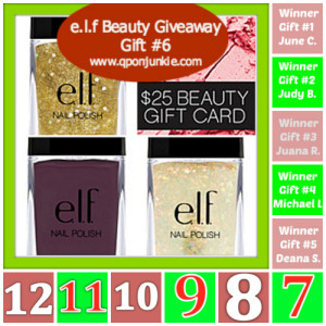 e.l.f. Beauty Giveaway 1