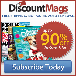 90% Off Magazines DiscountMags.com