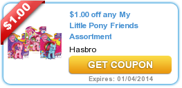 $1.00 off any My Little Pony Friends Assortment
