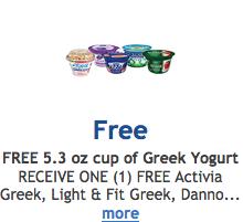 Free Greek Yogurt