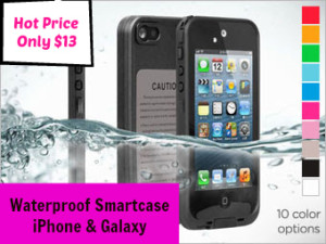 waterproof smartcase iPhone & Galaxy