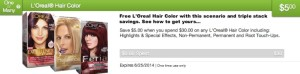 free_loreal_hair_color