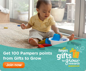 Free May Day Pampers Gifts to Grow Codes 2013 & Free Coupons