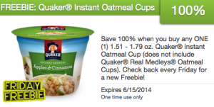 free-quaker-instant-oatmeal