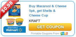 Buy Macaroni & Cheese 5pk, get Shells & Cheese Cup