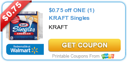 $0.75 off ONE (1) KRAFT Singles