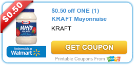 $0.50 off ONE (1) KRAFT Mayonnaise