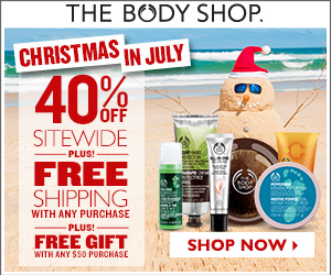 free_gift_&_free_shipping The Body Shop 40% OFF Sitewide + Free Shipping