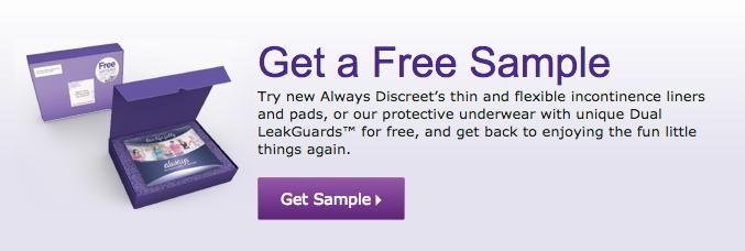 U pads free sample