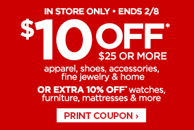 JCPenney save $10 wyb $25