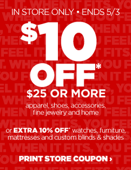 Jcpenney $10 off $25 in-store via printable coupon