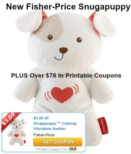 Fisher-Price-Coupons-Snugapuppy