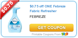 $0.75 off ONE Febreze Fabric Refresher