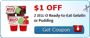 $1.00 off 2 JELL-O Ready-to-Eat Gelatin or Pudding