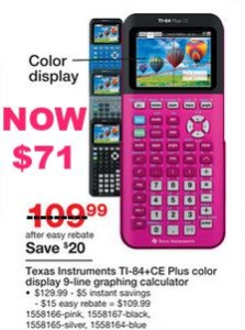 texas-instruments-TI-84-CE-plus-graphing-calculator